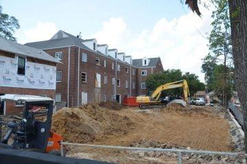The Collegiate Hotel Progress